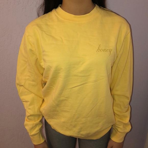 Brandy Melville Tops Honey Sweater Poshmark